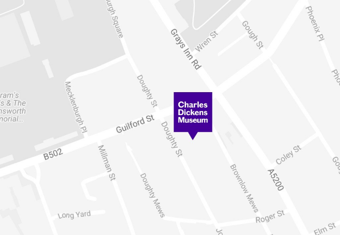 Welcome to 48 Doughty Street, the London home of Charles