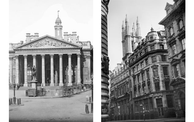 The Royal Exchange © Historical England Archive TDD97/00189 AA039922