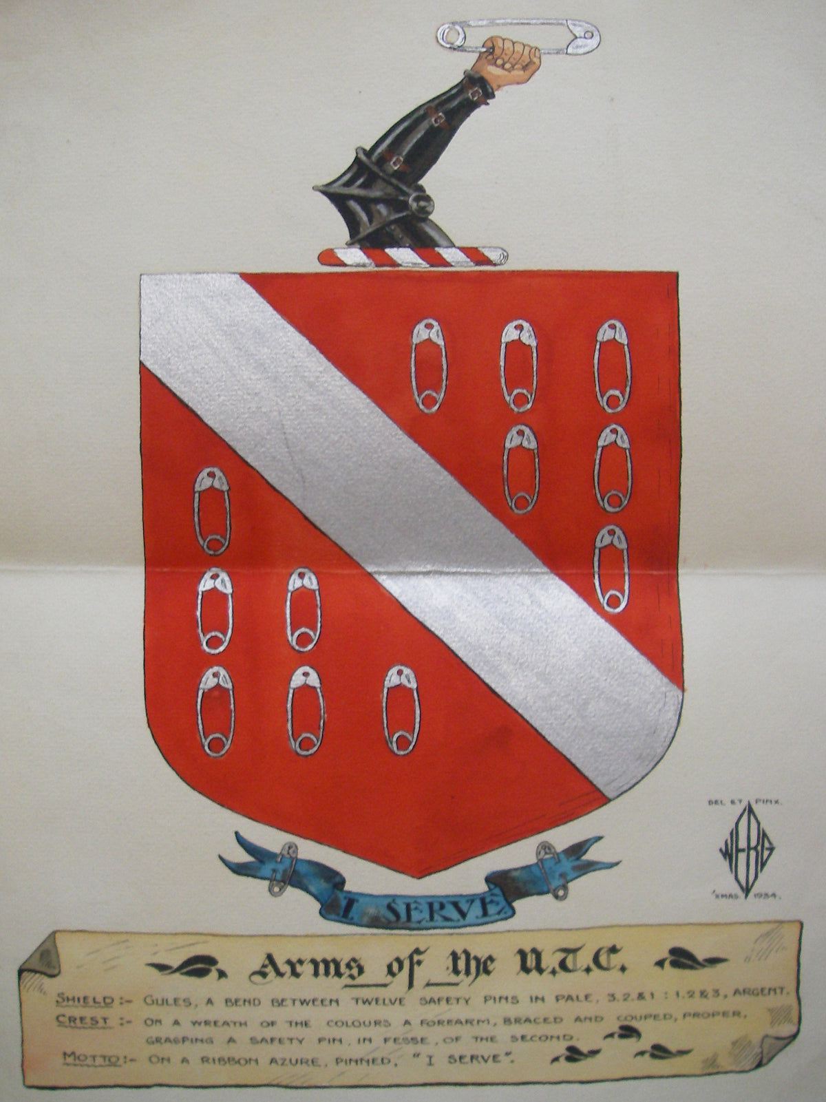 Coat of Arms of the Uncommercal Travellers Club