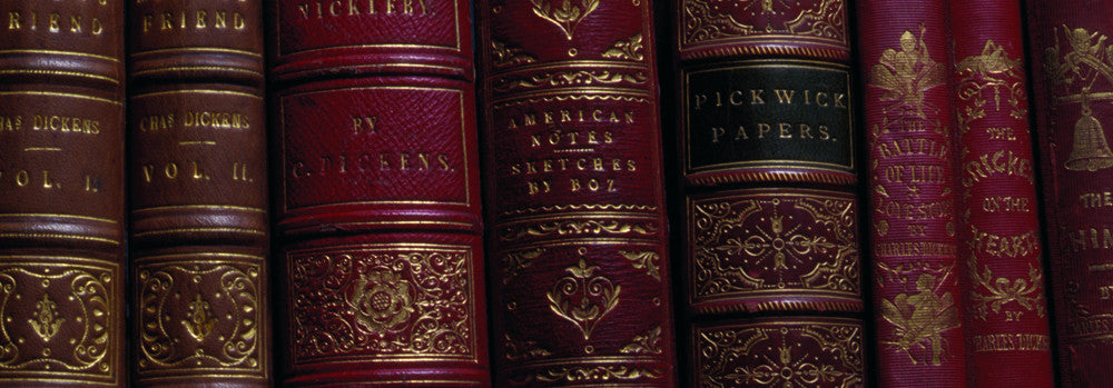Charles Dickens Book Spines