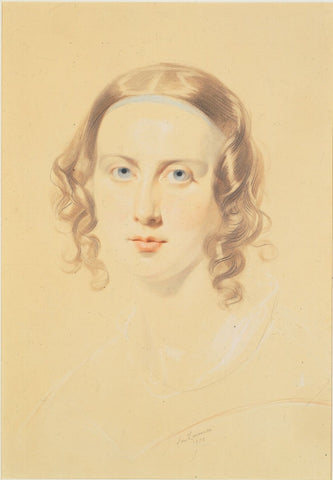 Portrait of Catherine Dickens by Samuel Laurence