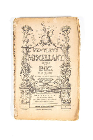 Close up view of Bentley's Miscellany
