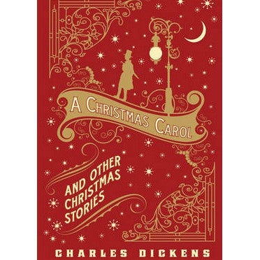 A Christmas Carol and Other Christmas Stories -  Barnes & Noble Leatherbound Classic Collection Hard Back