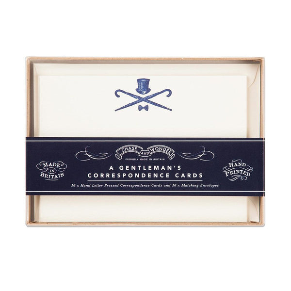 A Gentleman's Correspondence Stationery Set