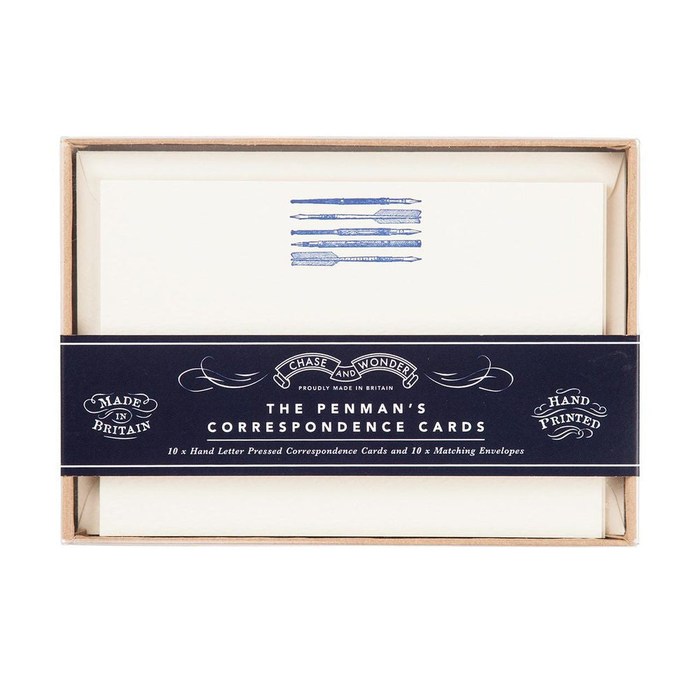 The Penman's Correspondence Stationery Set