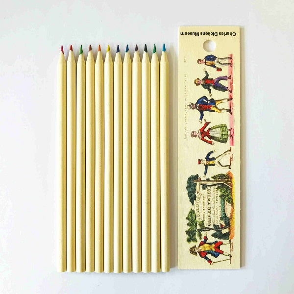 Colouring Pencil Box - Pollock's Characters & Scenes