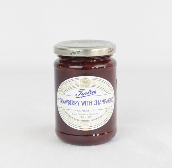 Strawberry with Champagne Conserve