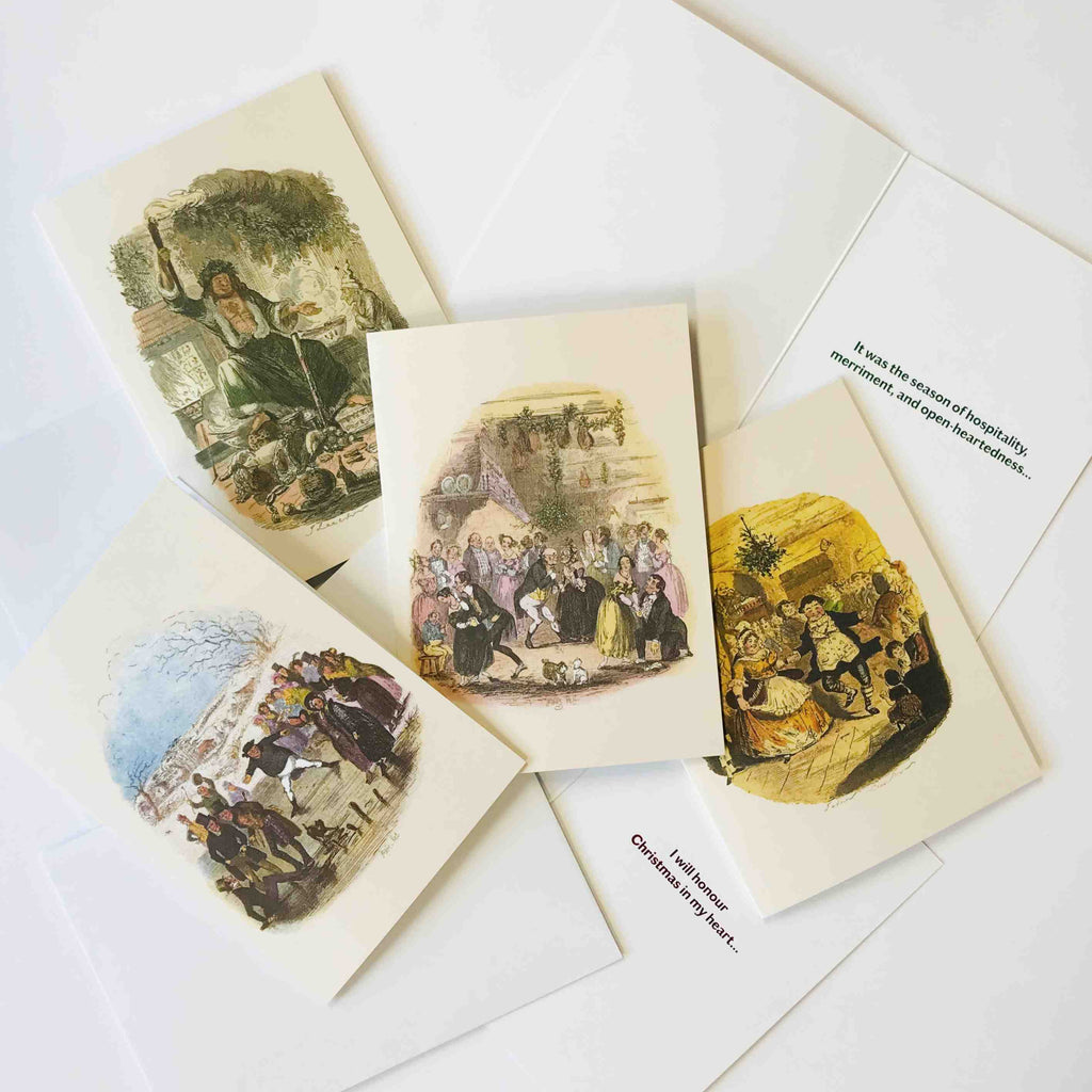 Dickens Museum Christmas Cards - Set of 8 - Charles Dickens Museum