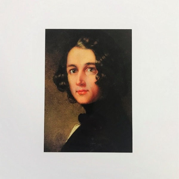 Charles Dickens The Lost Portrait Postcard - Charles Dickens Museum