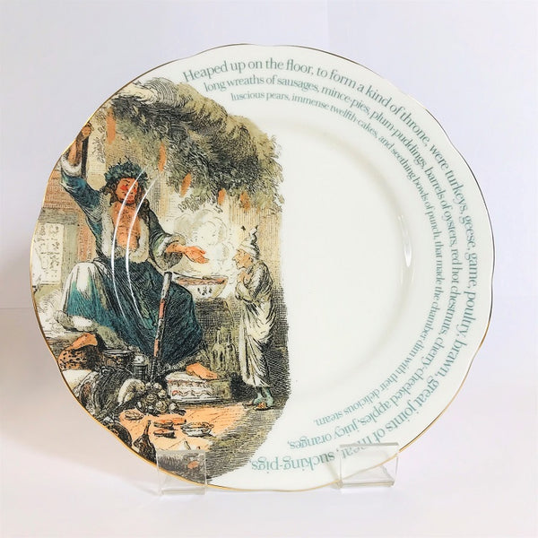 A Christmas Carol Plate - Charles Dickens Museum