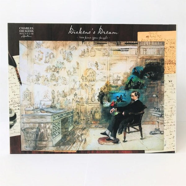Dickens's Dream Jigsaw 1000 piece - Charles Dickens Museum