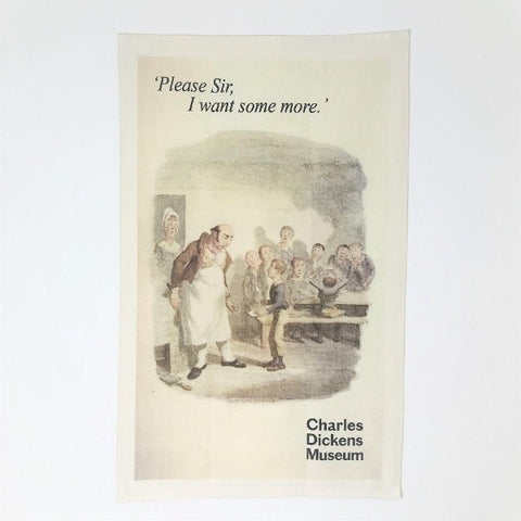 Oliver Twist Tea Towel
