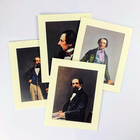 Technicolour Dickens Set of Four Prints
