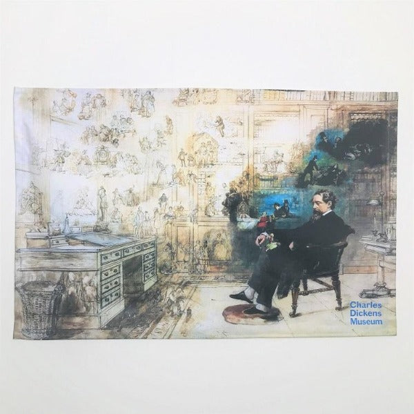 Dickens's Dream Tea Towel | Charles Dickens Museum London