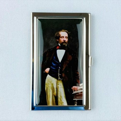 Technicolour Dickens Metal Card Holder