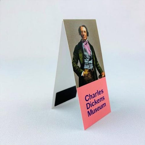 Technicolour Dickens Magnetic Bookmark - Cravat