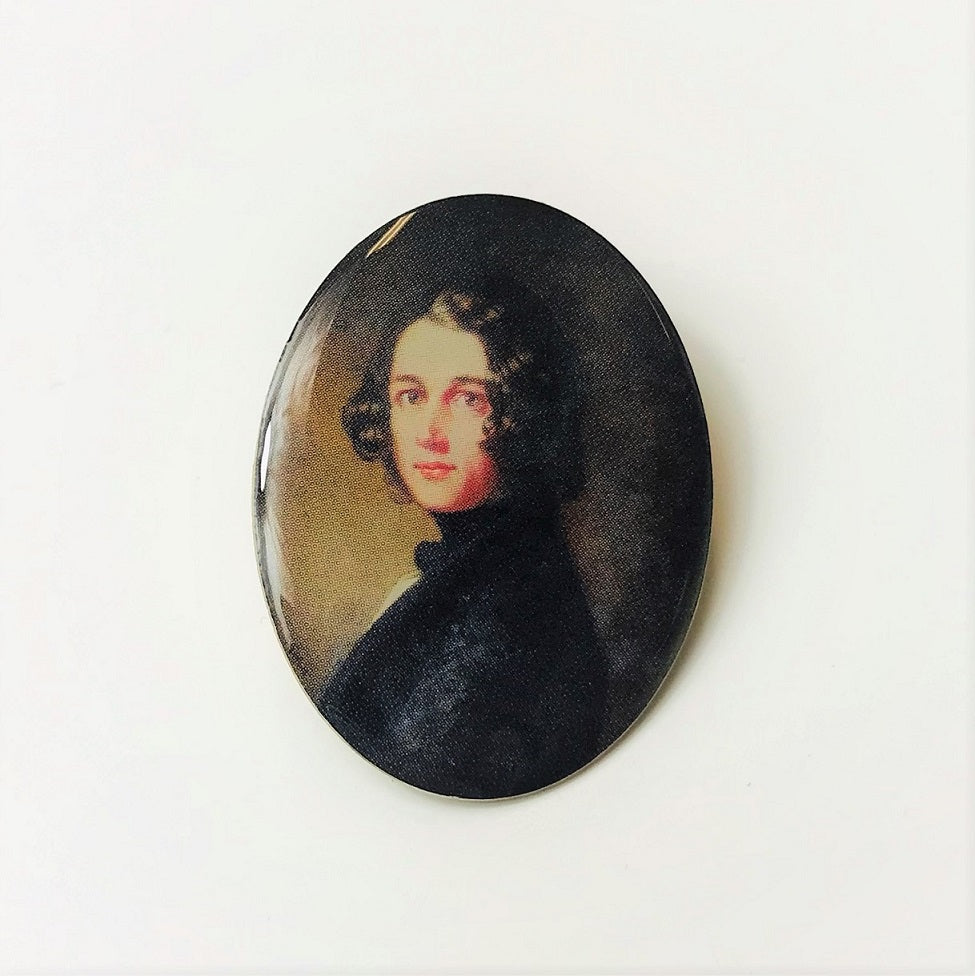 The Lost Portrait Pin Badge | Charles Dickens Museum London