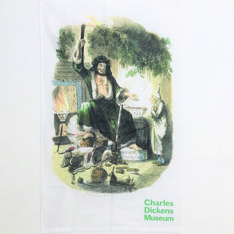 A Christmas Carol Tea Towel