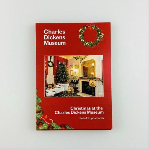 Christmas at the Charles Dickens Museum Postcard Set