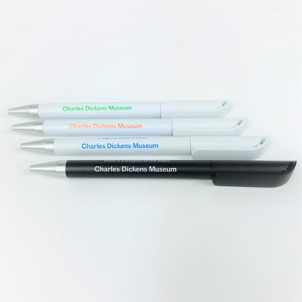 Quote Pens - Set of Four | Charles Dickens Museum London
