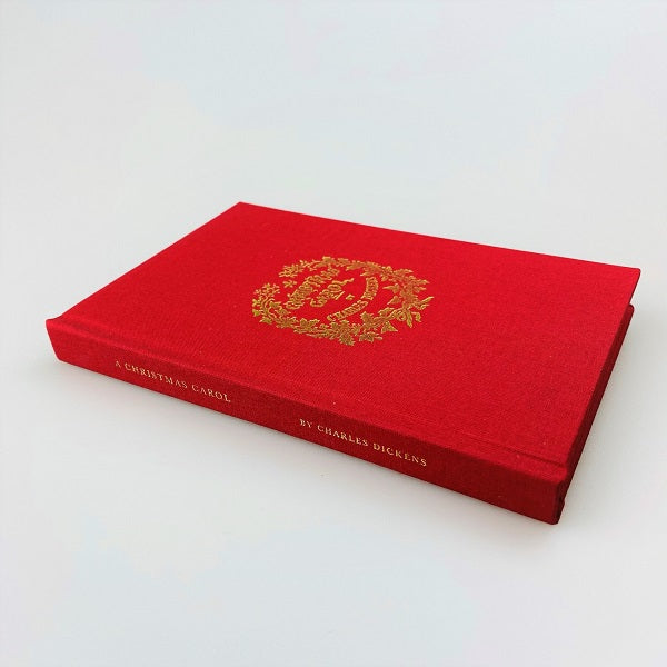 A Christmas Carol Replica Edition Red Cloth Cover