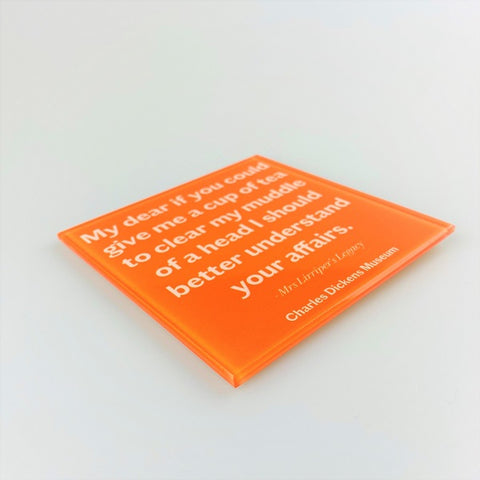 Mrs Lirriper's Legacy Quote Coaster