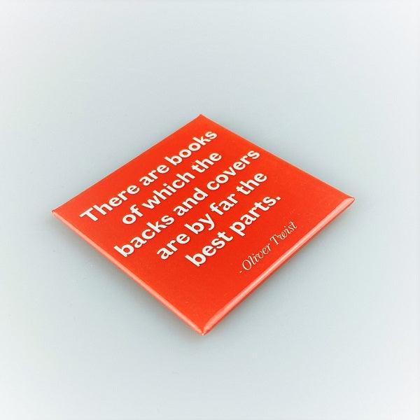 Quote Magnet - Oliver Twist