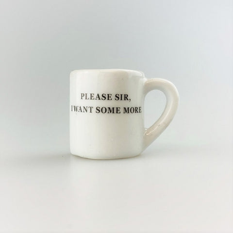 'Please Sir' Oliver Twist Mug Shaped Magnet