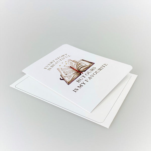 Every Story is Beautiful Greeting Card