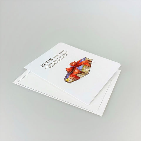 Book, A Gift Greeting Card