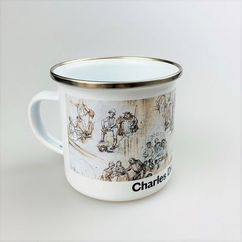 Dickens's Dream Enamel Mug