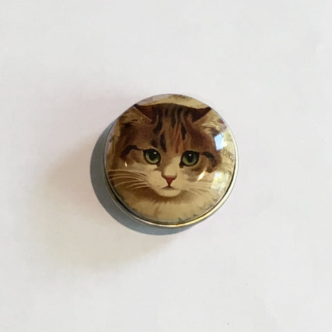 Mini Pill Box Cat