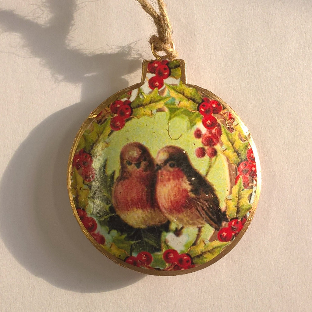 Vintage Bauble Hanging Decoration