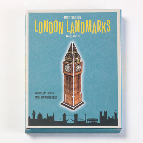 Big Ben London Paper Kit