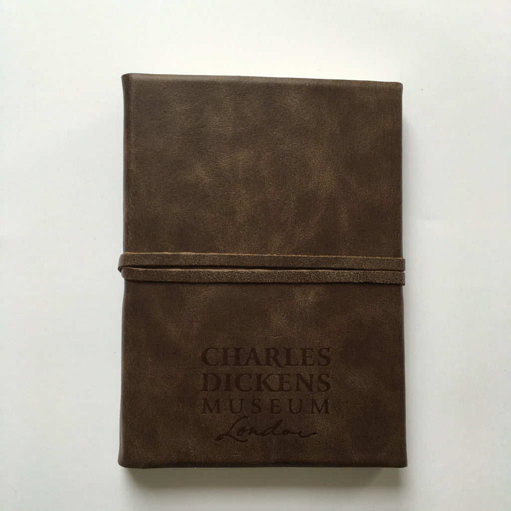 Charles Dickens Museum Leather Journal
