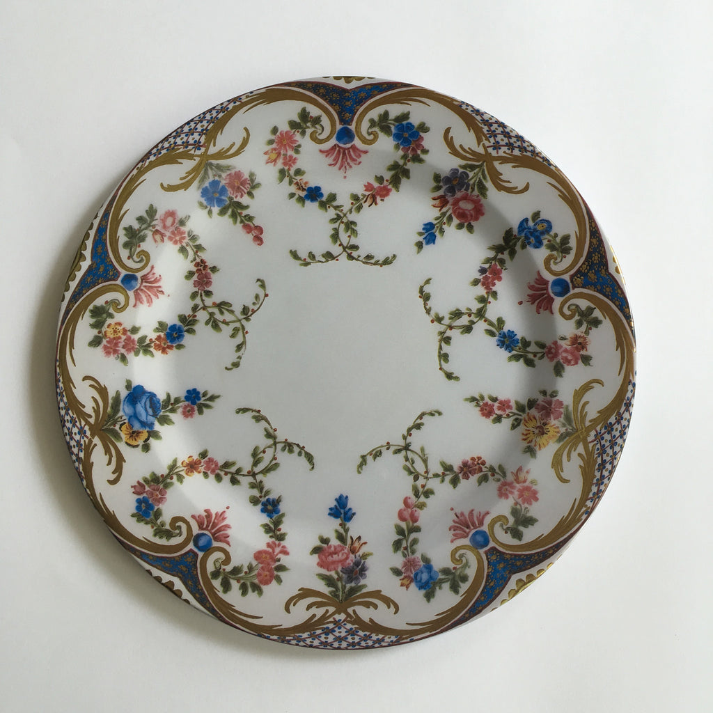 Rose Garland Tin Plate