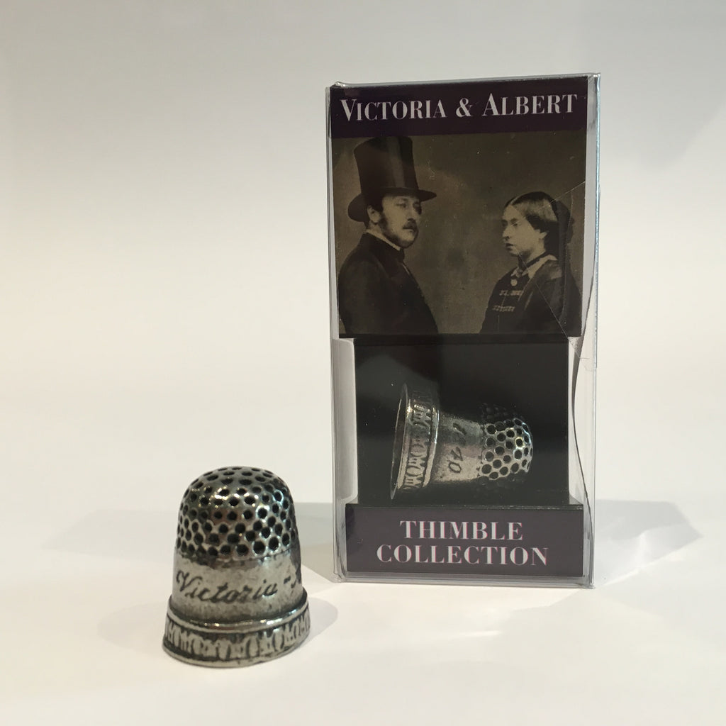 Victoria and Albert Thimble 1840 Replica