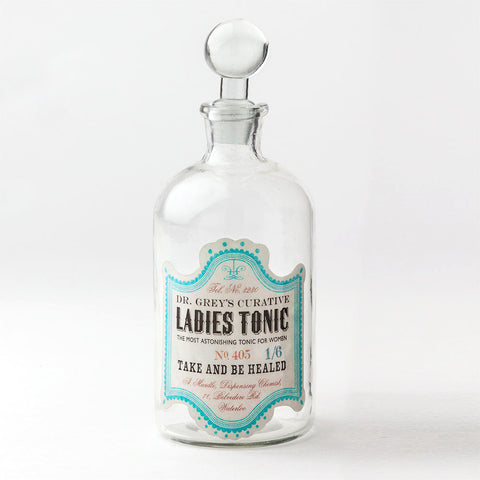 'Ladies Tonic' Apothecary Bottle