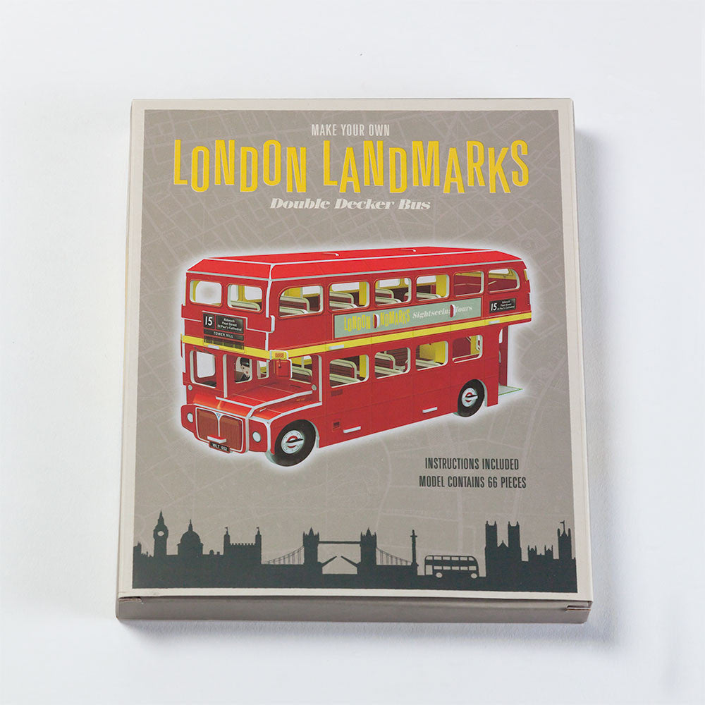 Double Decker Bus Paper Kit