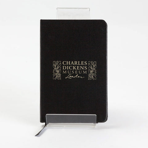 Black Charles Dickens Museum Notebook
