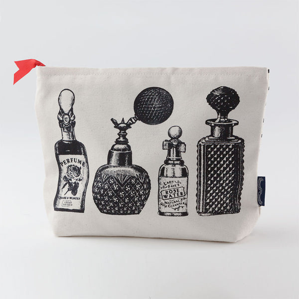 'Perfume' Screen Printed Wash Bag