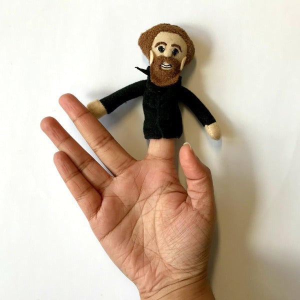 Charles Dickens Finger Puppet - Charles Dickens Museum