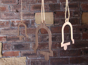 NEVE Wooden Hanging Bell