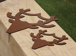 NEVE Leather Hanging Stag