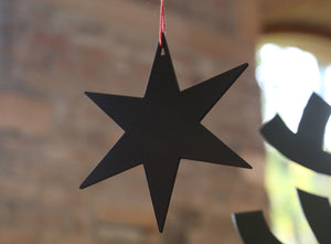 NEVE Leather Hanging Star