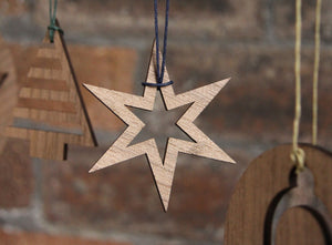 NEVE Tree Decoration | 6 Point Star