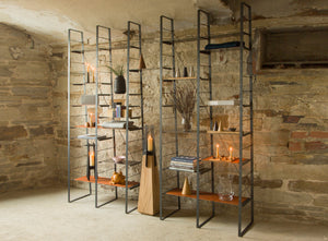 STAKK Freestanding Steel Shelving Unit