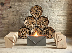 BOURNE Outdoor Steel Firepit