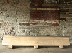 FALL Solid Oak Bench
