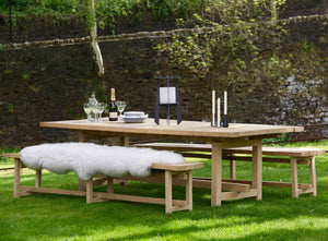 FRAON Solid Oak Outdoor Bench